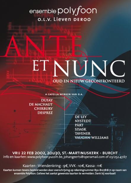 Ante et Nunc